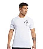 Reebok Graphic Tee T-Shirt Beyaz
