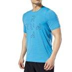 Reebok One Series Running Activchill T-Shirt - Turkuaz