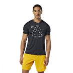 Reebok Training Activchill Graphic T-Shirt Siyah