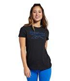 Reebok Training Essentials Graphic Tee T-Shirt Siyah