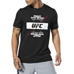Reebok UFC Fan Gear Fight For Yours T-Shirt- Siyah