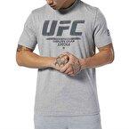 Reebok UFC Fan Gear Logo T-Shirt - Gri