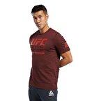 Reebok Ufc Fg Logo T-Shirt Bordo