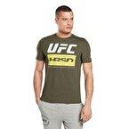Reebok Ufc Fight Week T-Shirt Yeşil
