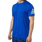 Reebok Wor We Comm Tech T-Shirt - Mavi