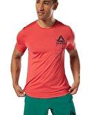 Reebok Workout Ready Activchill Graphic T-Shirt Kırmızı