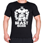 Supplementler.com Beast Mode HLK T-Shirt Siyah