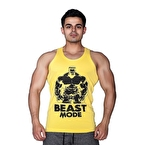 Supplementler.com Beast Mode HLK Tank Top Sarı