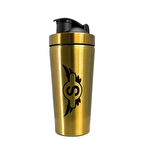 Supplementler Paslanmaz Çelik Shaker 739 ml Altın Sarı