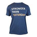 Supplementler.com Stronger Than Yesterday T-Shirt Lacivert