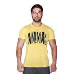 Supplementler.com Animal T-Shirt Sarı Siyah