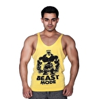 Supplementler.com Beast Mode Hlk Fitness Atleti Sarı