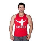 Supplementler.com Conquer Tank Top Kırmızı
