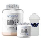 Supplementler.com Gainer 3000 Gr + Creatine 500 Gr Kombinasyonu