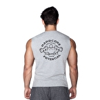 Supplementler.com Hardcore Potential Kolsuz T-Shirt Gri