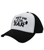 Supplementler.com Meet Me At The Bar Şapka Siyah