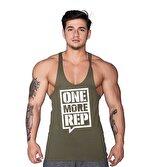 Supplementler.com One More Rep Fitness Atleti Yeşil