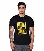 Supplementler.com One More Rep T-Shirt Siyah