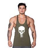 Supplementler.com Skull Fitness Atleti Yeşil