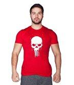 Supplementler.com Skull T-Shirt Kırmızı