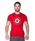 Supplementler.com Star T-Shirt Kırmızı
