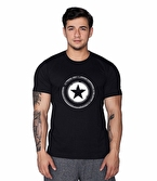 Supplementler.com Star T-Shirt Siyah