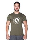 Supplementler.com Star T-Shirt Yeşil