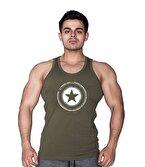 Supplementler.com Star Tanktop Yeşil