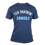 Supplementler.com Tek Rakibim Arnold T-Shirt Koyu Gri