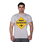 Supplementler.com Under Construction T-Shirt Açık Gri