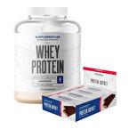 Supplementler.com Whey Protein 2000 Gr + Protein Gofret 12 Adet Kombinasyonu
