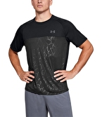Under Armour 2.0 Emboss Short Sleeve T-Shirt Siyah-Gri