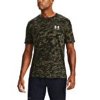 Under Armour All Over Logo T-Shirt Siyah Kamuflaj