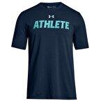 Under Armour Athlete SS Erkek T-Shirt - Lacivert