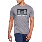 Under Armour Boxed Sportstyle SS Erkek T-Shirt - Gri