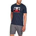 Under Armour Boxed Sportstyle T-Shirt Lacivert