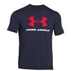 Under Armour CC Sportstyle Logolu Erkek T-Shirt - Lacivert