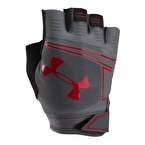 Under Armour CoolSwitch Flux Antrenman Eldiveni Gri