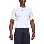 Under Armour HeatGear Armour Compression T-Shirt Beyaz
