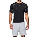 Under Armour HeatGear Armour Compression T-Shirt - Siyah