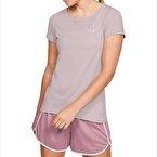 Under Armour HeatGear Armour T-Shirt Pembe