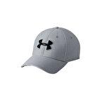 Under Armour Heathered Blitzing 3.0 Şapka Gri Siyah