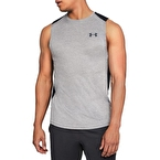 Under Armour MK-1 Kolsuz T-shirt Siyah-Gri