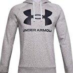 Under Armour Rival Flc Big Logo Sweatshirt Gri