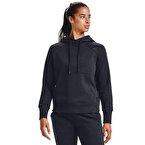 Under Armour Rival Fleece Kapüşonlu Kadın Sweatshirt Siyah