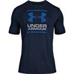 Under Armour Short-Sleeve Graph T-Shirt Lacivert