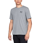 Under Armour Sportstyle Left Chest T-Shirt Gri