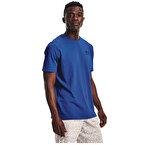 Under Armour Sportstyle Left Chest T-Shirt Mavi
