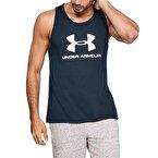 Under Armour Sportstyle Logo Atlet Lacivert Beyaz