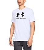 Under Armour Sportstyle Logo T-Shirt Beyaz